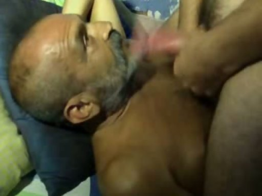 Cuckold husband eating sperm from wife