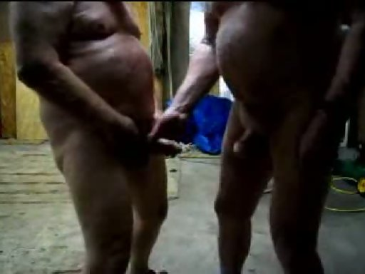 Sticking hole head in pussy