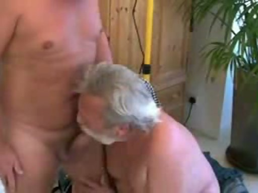 Silver daddy blowjob and eat cum  XTube Porn Video from