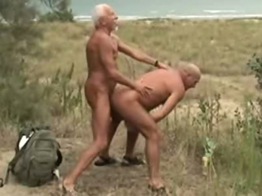 old and young gay outdoor tube