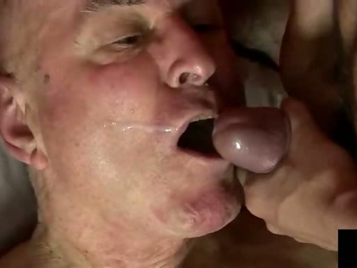 Old Man Cum Tube